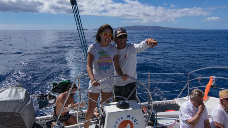 Une journée en catamaran