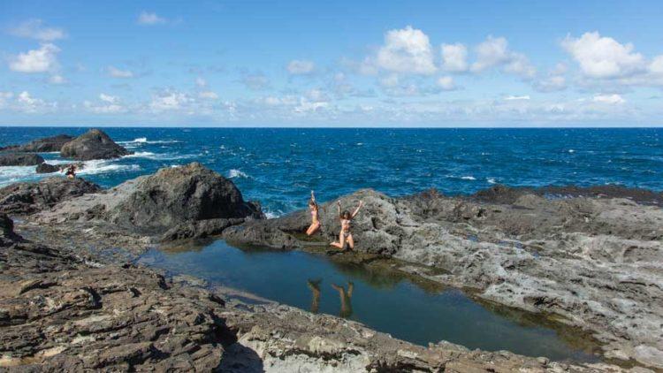 Piscines naturelles à Maui