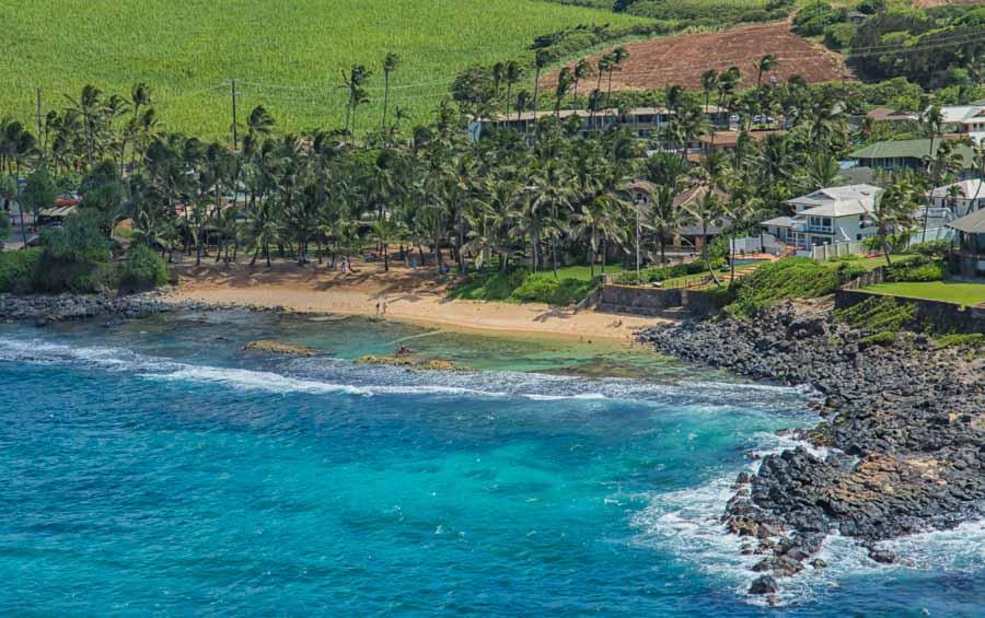 Paia, les plages de Maui