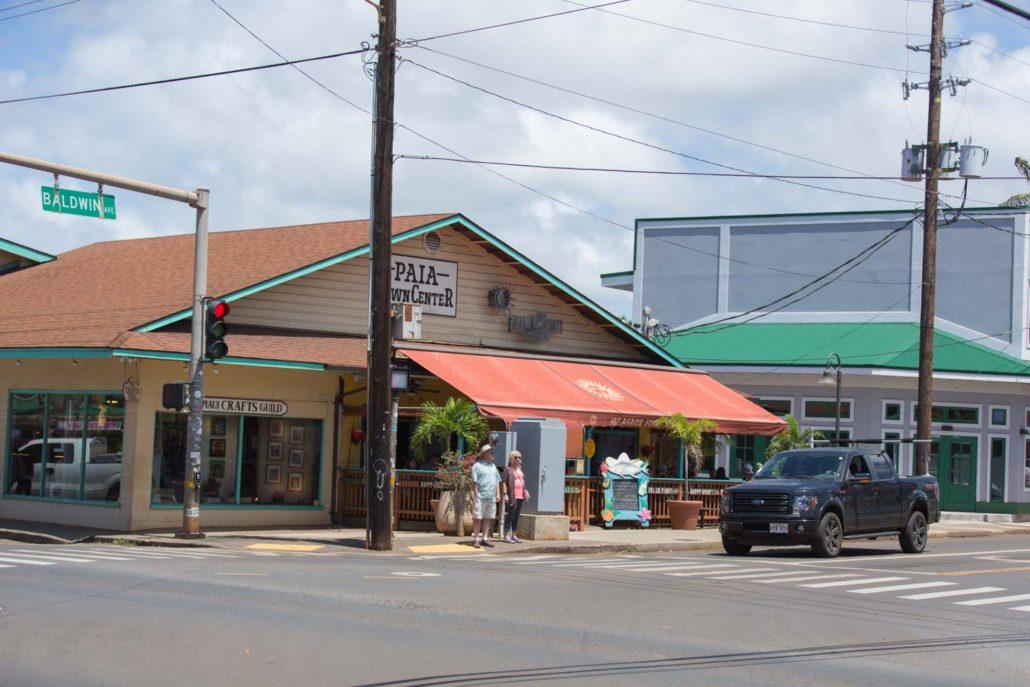 milagros restaurant, village Paia