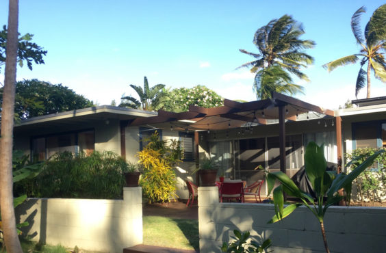 maison sur la plage Hawaii